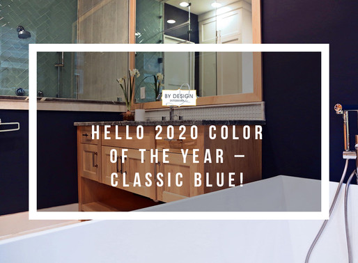 Hello, 2020's Color of the Year – Classic Blue!
