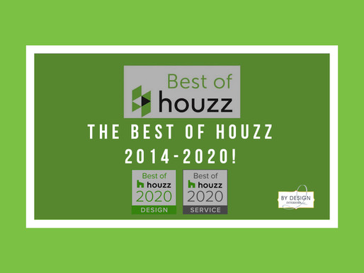 Houston Interior Design Firm wins Best of Houzz 2020!