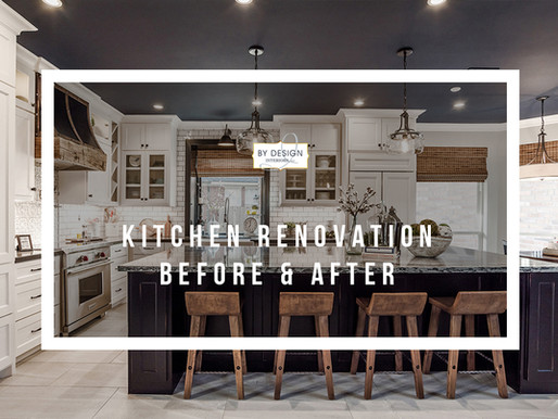 Houston Interior Design Firm's Fabulous Kitchen 'Before & After' Reveal!