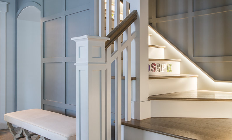 Entry Staircase Remodel