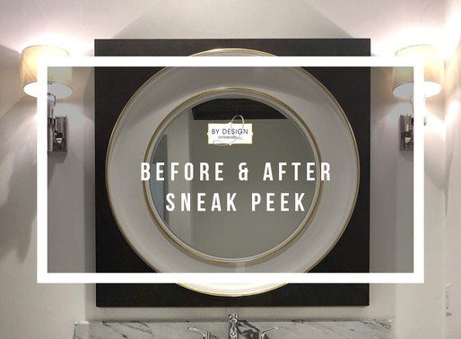 Houston interior design firm reveals sneak peek of a Before and After transformation