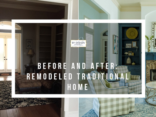 Before and After: Remodeled Traditional Houston Home