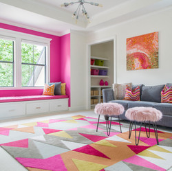 Hot Pink Teen Space