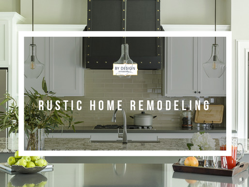 Rustic Home Remodeling in Houston