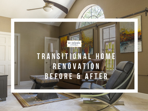 Houston Modern Transitional Home Renovation: Before and After