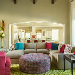 Mediterranean Inspired Living Room