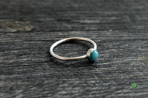 Amazonite Gemstone Stacking Ring