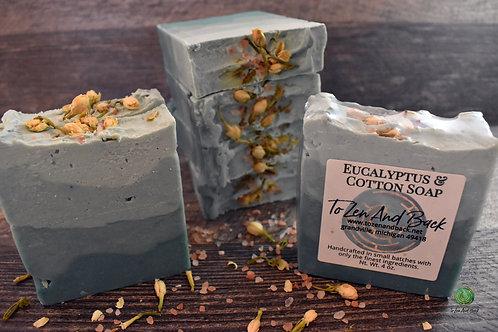 Eucalyptus & Cotton Soap