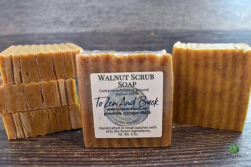 Walnut Scrub Soap