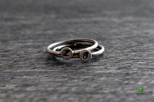 Personalized Stacking Rings