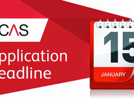 Deadline for UK on-time applications