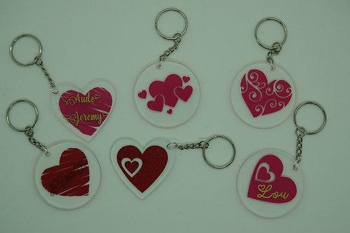 Porte-clé personnalisé en acrylique