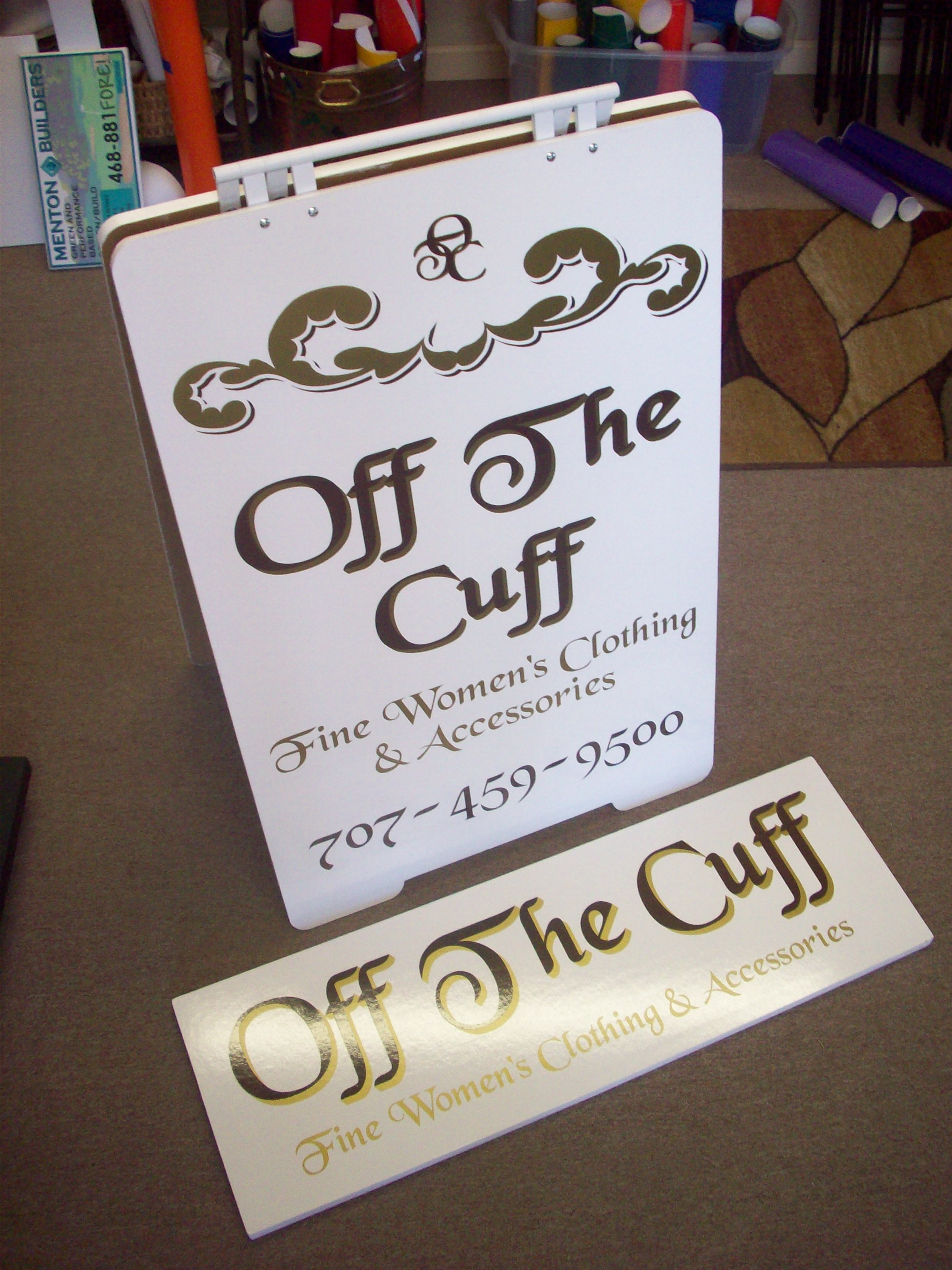 Off the Cuff - Willits