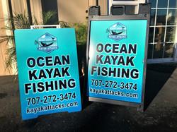 Ocean Kayak Fishing