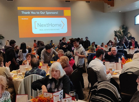 In the Community - SCV Senior Center Thanksgiving Feast