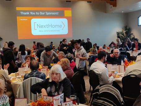 In the Community - SCV Senior Center Thanksgiving Feast