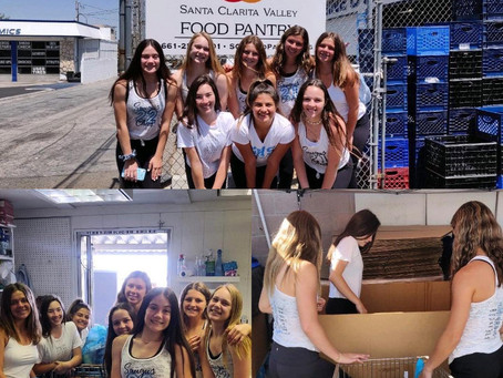 In The Community - Food Pantry