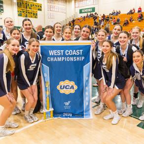 1st Place - UCA West Coast Championships - Varsity Competition
