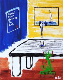 Believe in Art (sold)