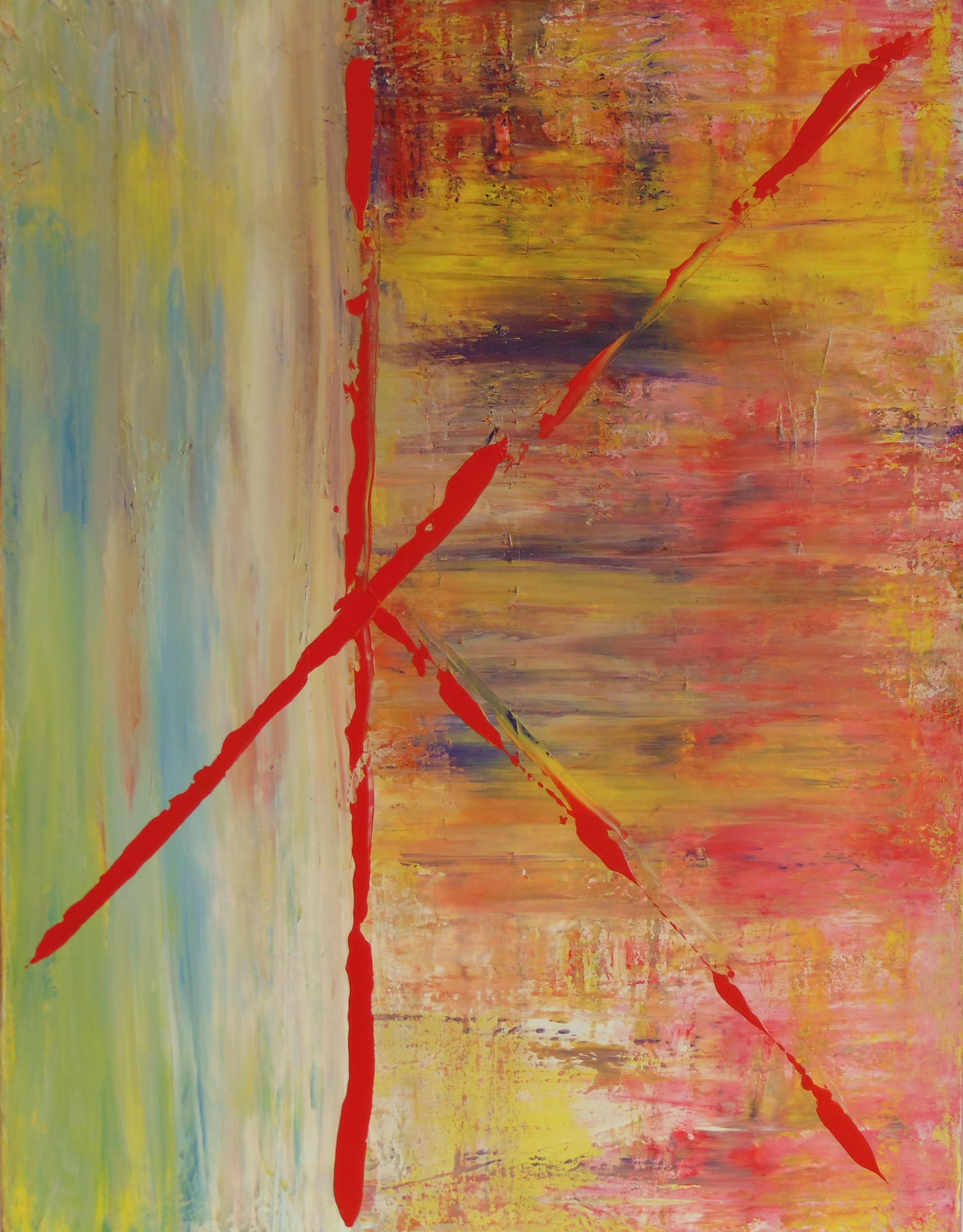 Emotional Painting 'Refraction'