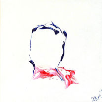 Lady with scarf (2020) 30x30x2.JPG