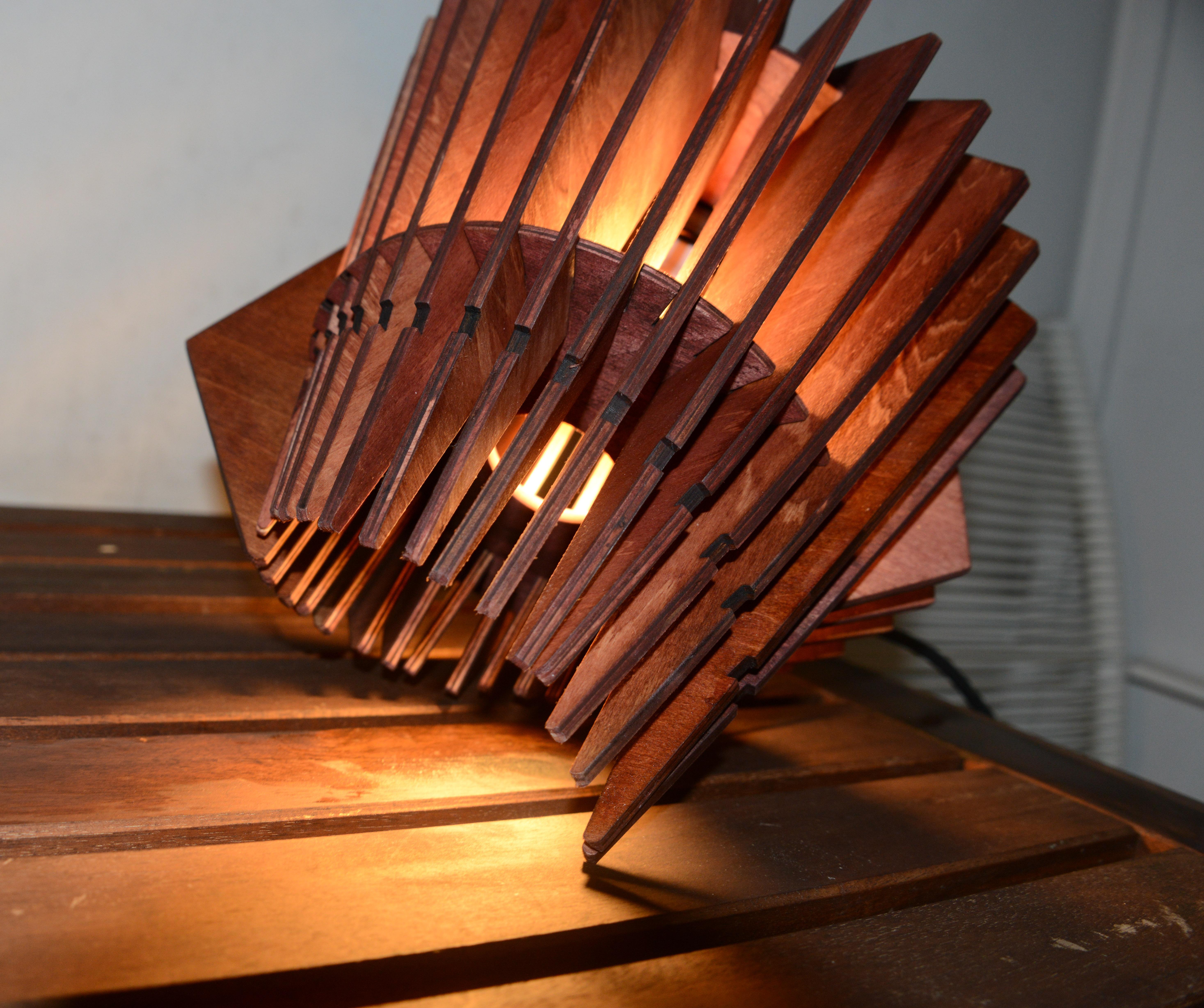 Orbit Lamp Design