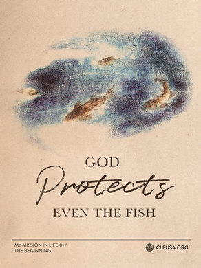 GOD PROTECTS EVEN THE FISH