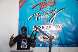 DJ at Flo Rida Day in Miami Beach - TGI Fridays