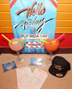 Flo-Rita Specialty Drinks - Flo Rida Day in Miami Beach - TGI Fridays