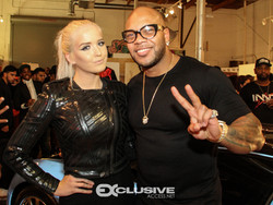 Macy Kate and Flo Rida - Art Basel Party - Miami