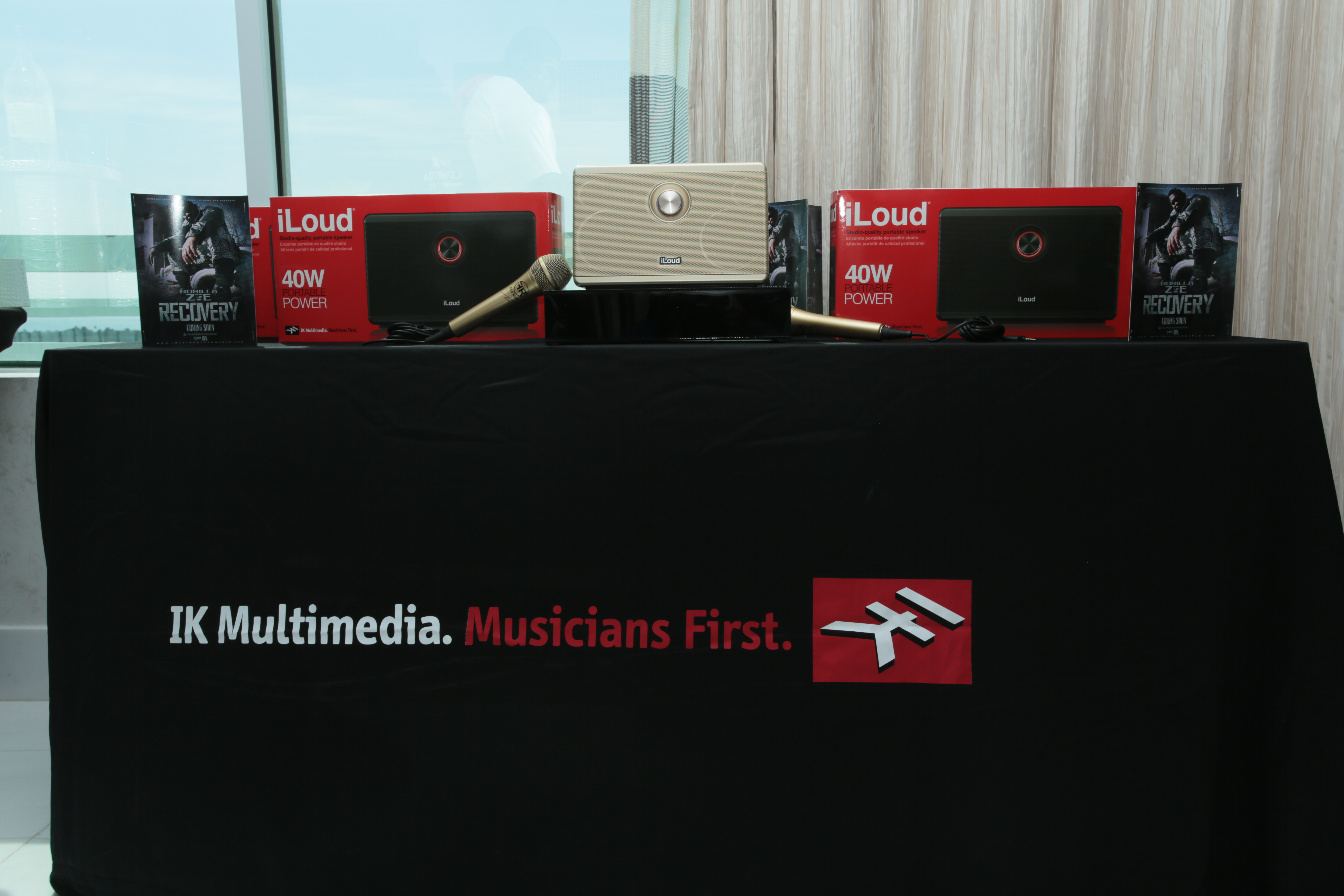 IK Multimedia at Flo Rida Gifting Suite - Fontainebleau - Miami