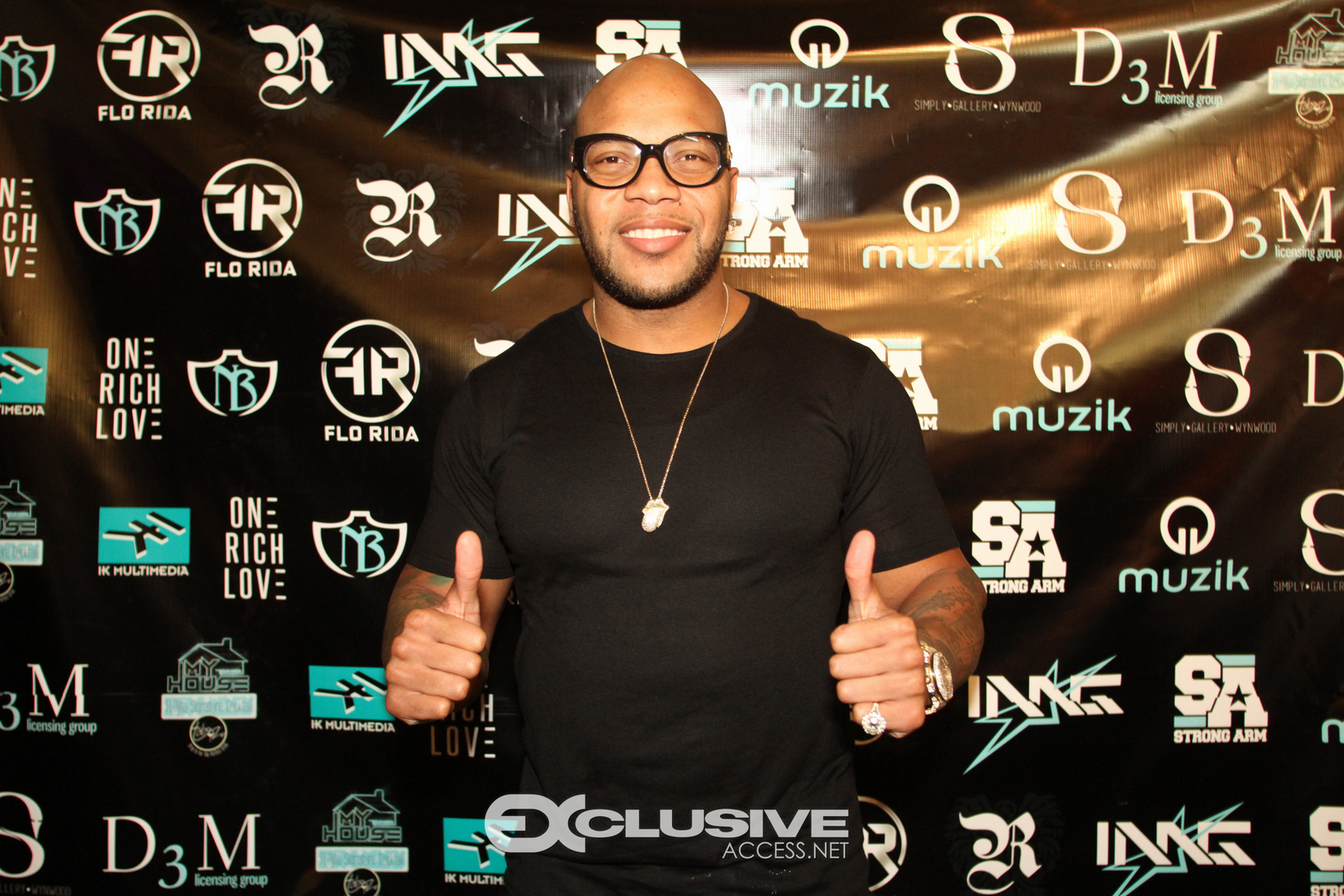 Flo Rida Hosting Art Basel Party - Miami