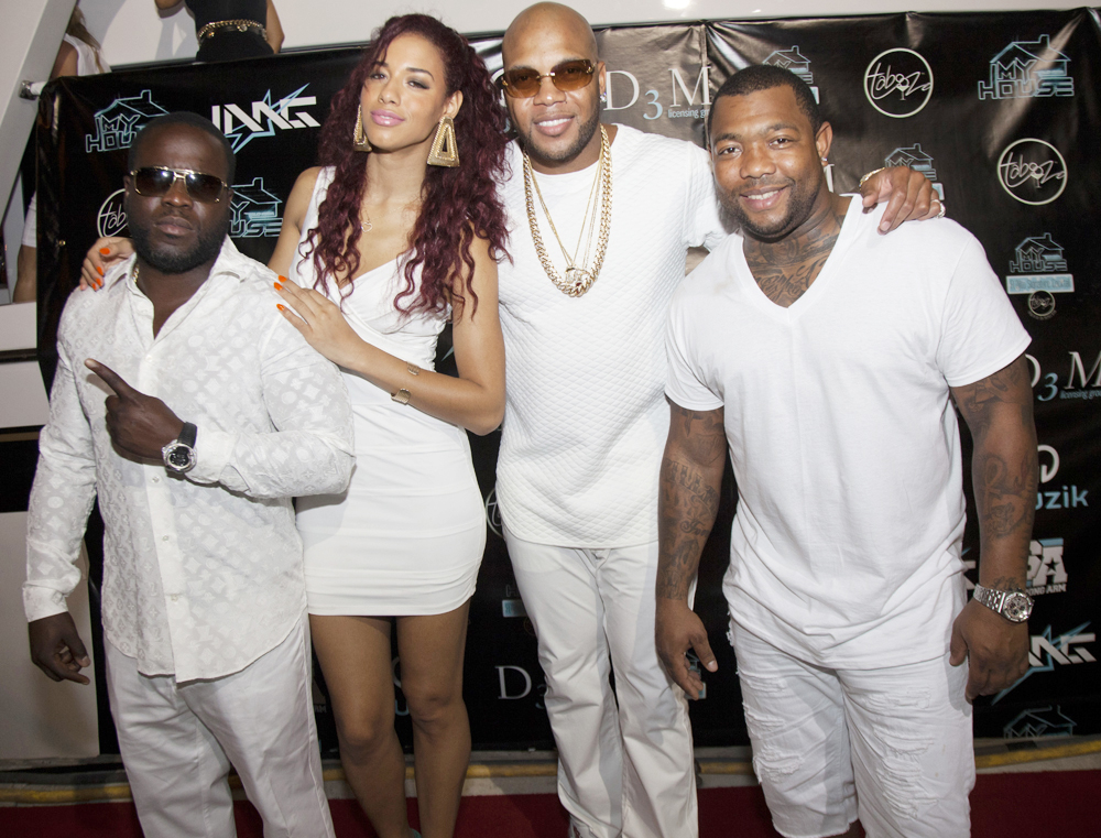 Freezy Prince, Natalie La Rose, Flo Rida, Gorilla Zoe at My House Album Launch Party - Miami Beach