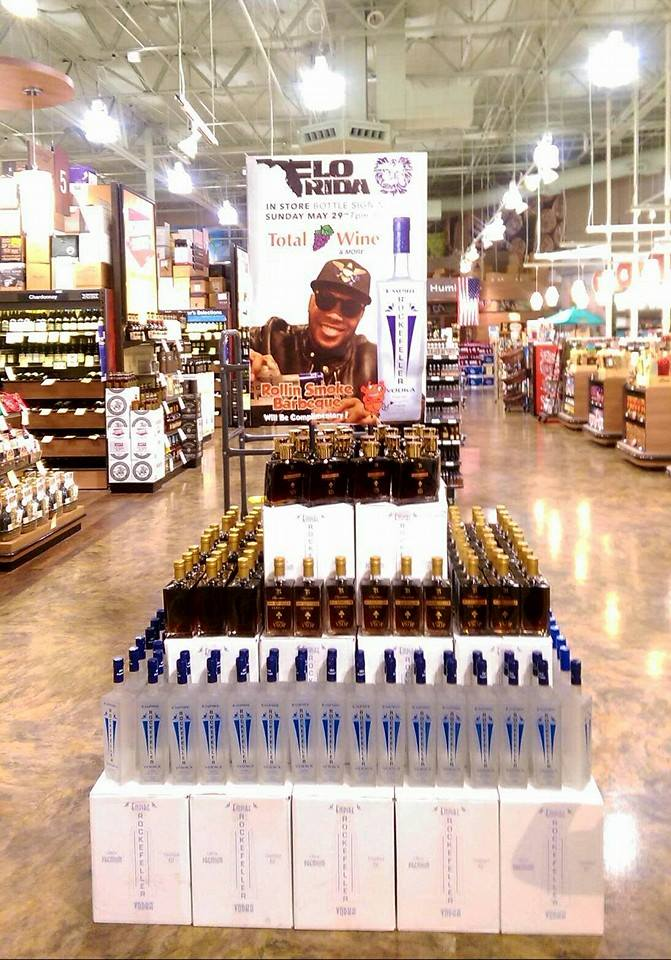 Flo Rida Total Wine In-Store Display