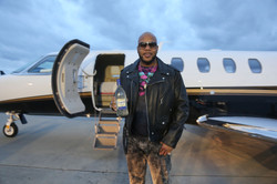 Flo Rida at NBA All Star Weekend in New Orleans