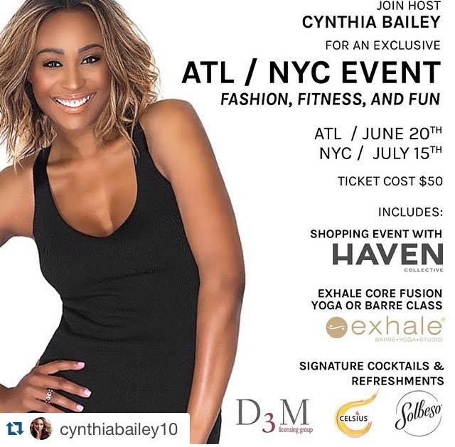 Cynthia Bailey's ATL Fashion, Fitnes