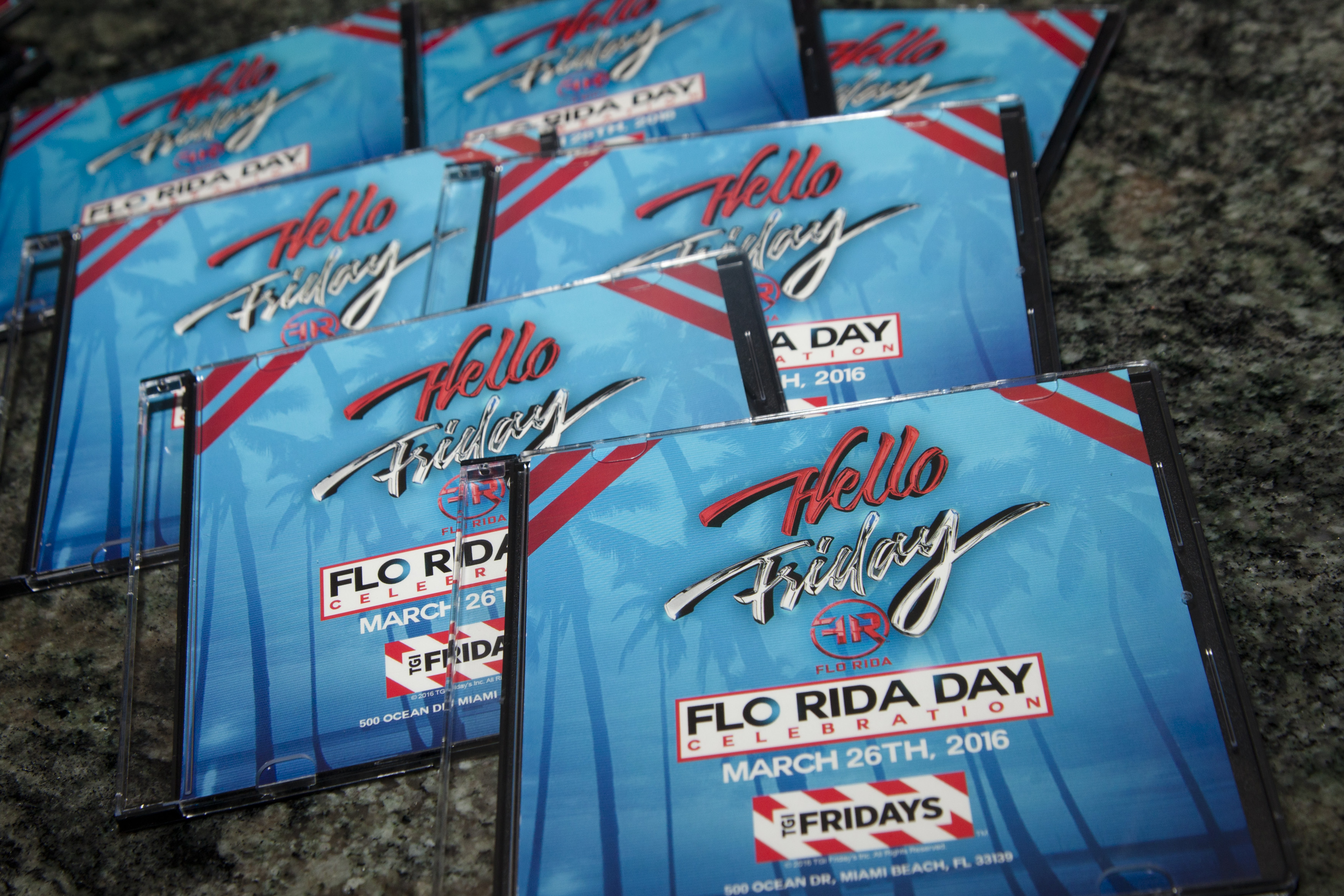 Gift CD's - Flo Rida Day in Miami Beach - TGI Fridays