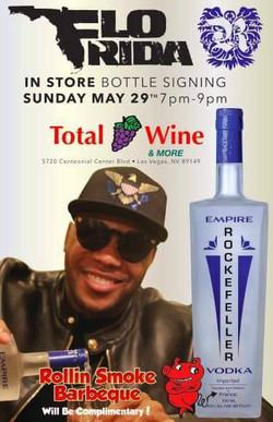 Flo Rida Bottle Signing at Total Wine