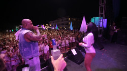 Flo Rida on stage with Vintage Rockefeller Empire Vodka in Cancun