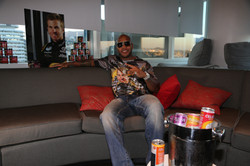 Flo Rida Gifting Suite at Video Music Awards