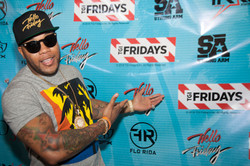 Flo Rida Day in Miami Beach - TGI Fridays 1