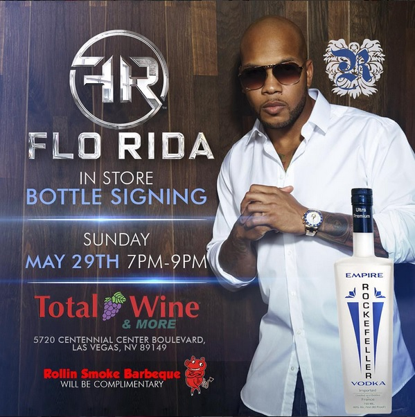Flo Rida Total Wine Bottle Signing - Las Vegas