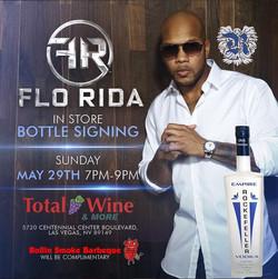 Flo Rida Total Wine Bottle Signing - Las Vegas