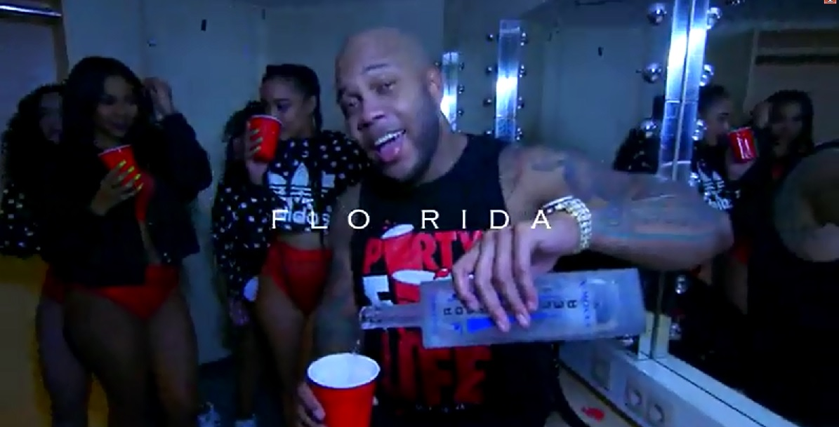 Empire Vodka Product Placemnt - Gorilla Zoe Video 'Red Cup' ft. Flo Rida