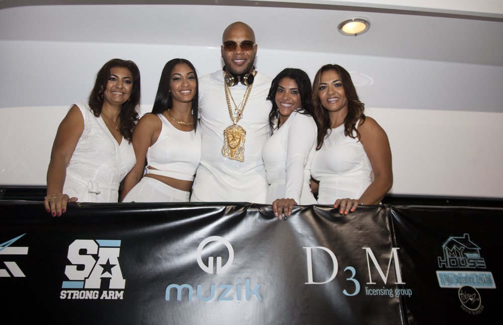 Flo Rida - My House Album Launch Party - Miami Beach 1