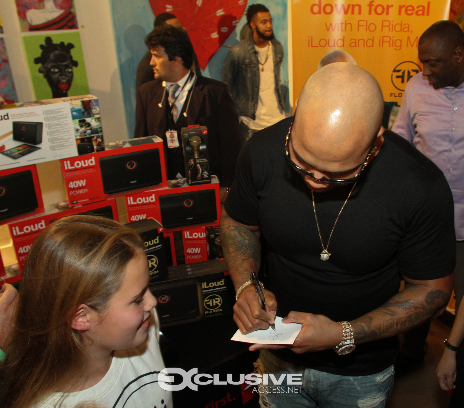 Flo Rida Always Has Time For His Fans - Art Basel Party - Miami