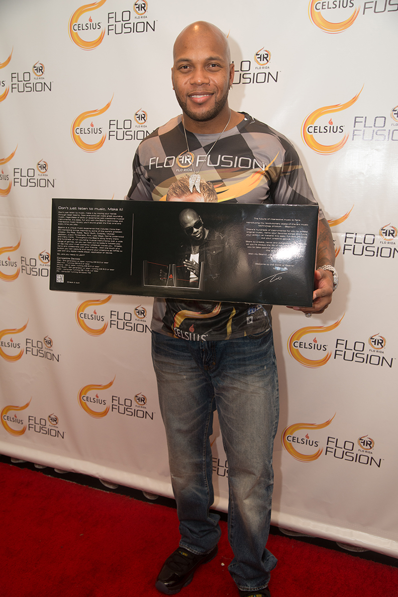 Flo Rida with Beamz by Flo at VMA Gifting Suite
