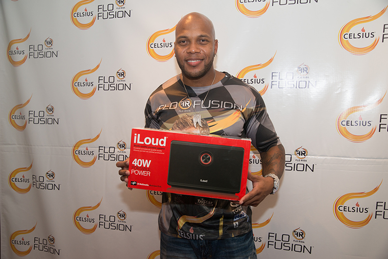 Flo Rida with iLoud at VMA Gifting Suite