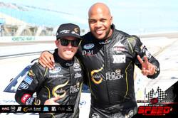 Blake Koch and Flo Rida - Rapper vs. Racer