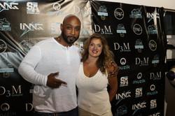 Breyan Isaac D3M CEO Marlo Gold - Flo Rida's  My House Album Launch Party - Miami Beach